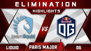 Liquid vs OG [TOP 4] MDL Disneyland Paris Major 2019 Highlights Dota 2