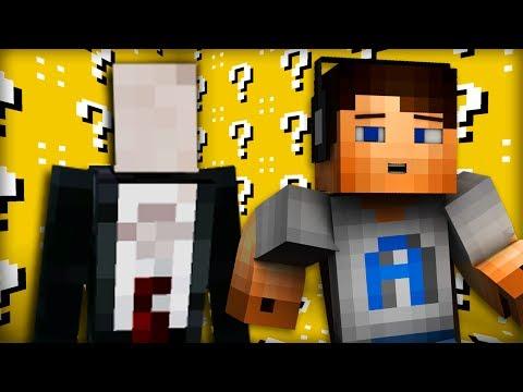 Minecraft LUCKY BLOCK - SLENDER Mod Battle! w/ Ali-A!