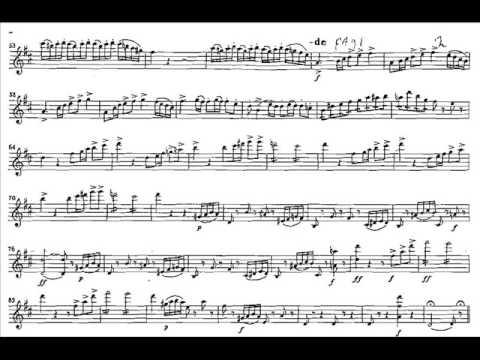 Paganini, Niccolo violinc.1 mvt 1(begin) Allegro maestoso