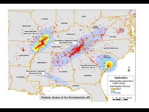 10th Earthquake of 2017 Detected In North Alabama - Appalachian Fault Lines Revealed - New Madrid