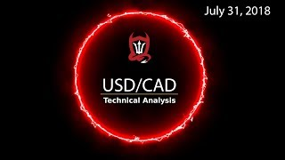 Canadian Dollar Technical Analysis (USD/CAD) : Doing the Daily... [07/31/2018]
