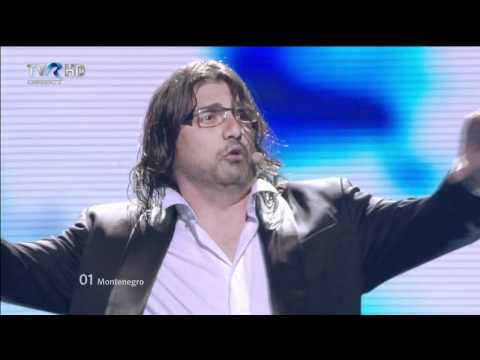 HD Eurovision 2012 Montenegro: Rambo Amadeus - Euro Neuro (Semi-Final 1)
