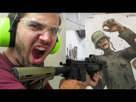 SHOOTING ZOMBIES!! (6.18.13 - Day 1510)