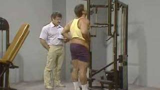 Mike Mentzer Trains Boyer Coe  Part  one