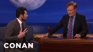 Billy Eichner Challenges Conan To Name 20 Famous White Women  - CONAN on TBS
