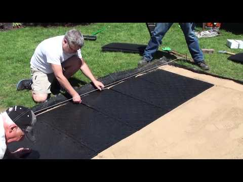 EZ Base   Installing Pavers with Techniseal's Hardscape Base System