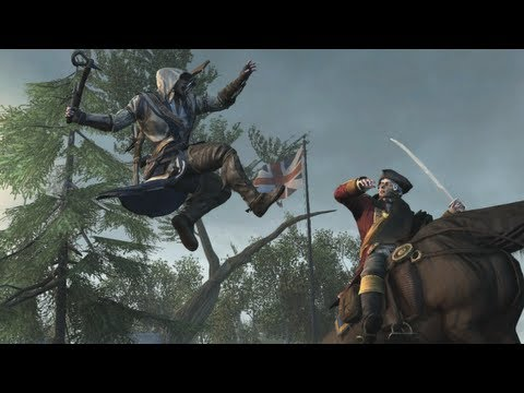 Assassin`s Creed III World Gameplay Premiere