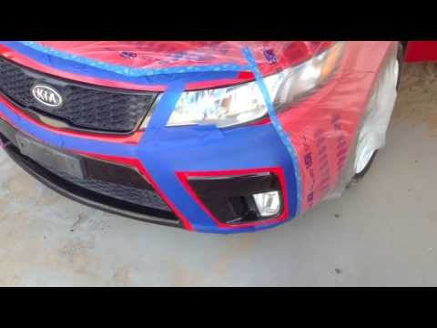 Plasti Dip - Grills and Emblems White Kia Forte Koup
