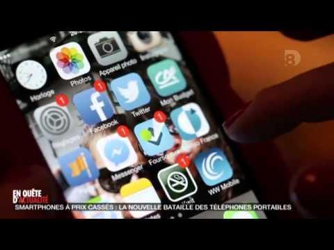 EN QUÊTE D'ACTUALITÉ - Smartphones à prix cassés la nouvelle bataille des téléphones portables  (D8)