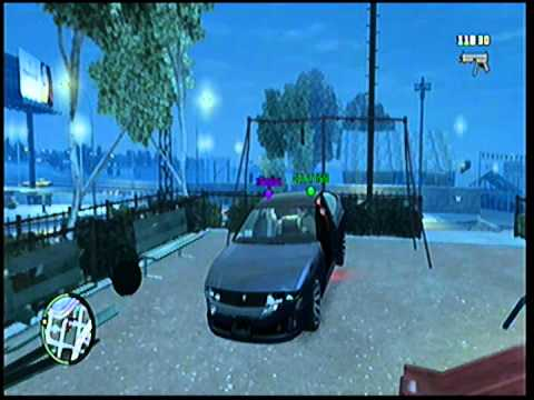 Grand theft Auto 4 swing set glitch fail