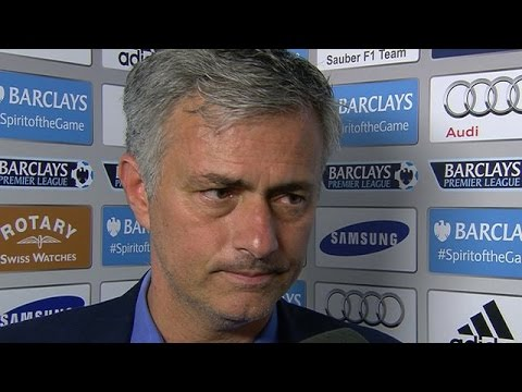 Chelsea 1-0 Crystal Palace - Jose Mourinho Premiership Winning Interview - Happy, Proud & Tired
