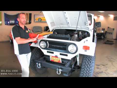 1977 Toyota FJ40 Land Cruiser FOR SALE flemings ultimate garage md