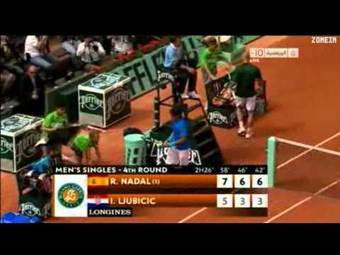 Rafa ナダル vs Ljubicic - 全仏オープン 2011 Last Game