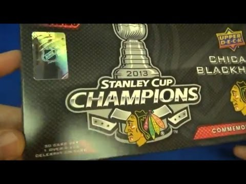 Chicago Blackhawks Stanley Cup Box Set Hockey Cards, 2013 Upper Deck (Sports Sunday - Ep. 03)