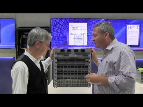 Visiting Best of Interop Winner Arista Networks