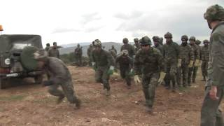 22 MEU and Hellenic Army Conduct Fast-Roping Exercise