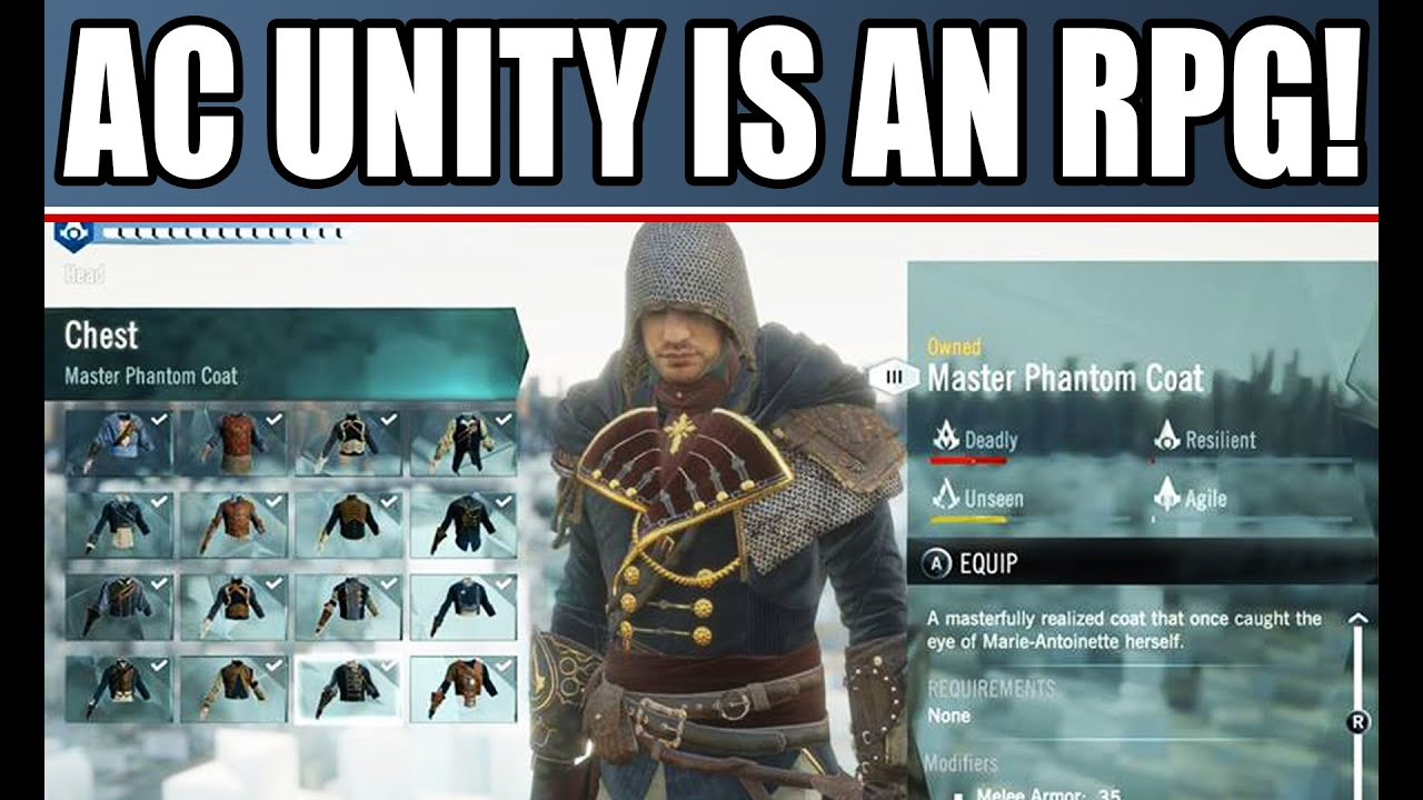 ac Unity New Gameplay Assassin's Creed Unity New