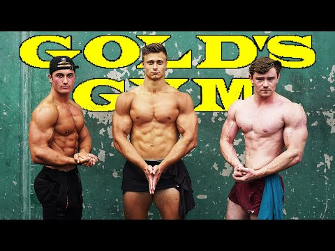 CLASSIC GOLD'S GYM VENICE & MUSCLE BEACH WORKOUT | LA Road Trip Finale