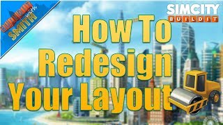 SimCity Buildit | How To Redesign Your Layout: 10 EASY Steps