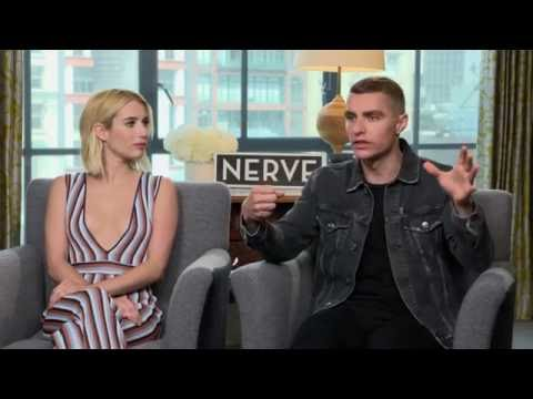 Emma Roberts & Dave Franco Dare Reporter to Drink Pickle Juice