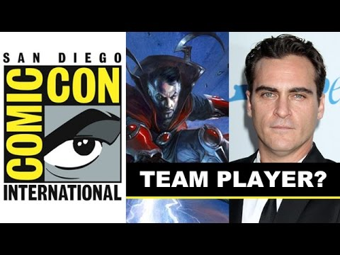 Comic Con 2014 - Joaquin Phoenix is Dr Strange for Marvel : Beyond The Trailer