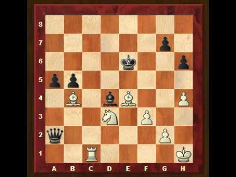 Chess calculation training, exercise 1