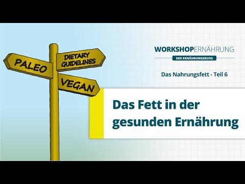 FETT (6/6): Gesunde Ernährung - Vegan Vs. Paleo?   Workshop Ernährung