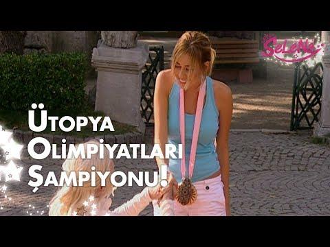 Selena, Ütopya olimpiyatları şampiyonu!