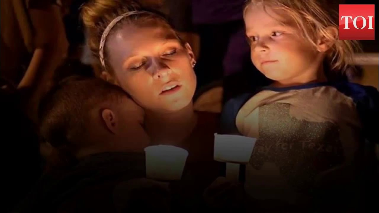 Candlelight Vigil for Texas Church Shooting Victims