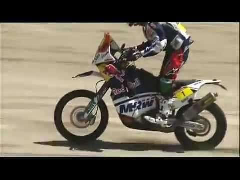 Dakar 2012 moto best video