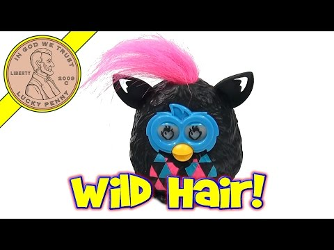Furby Boom #4 Wild Hair & Phone App - 2013 McDonald's Happy Meal Toy Review