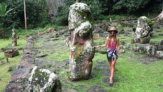 The Ancient Tikis of French Polynesia! (Sailing La Vagabonde) Ep. 46