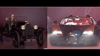Bugatti Type 18 Black Bess and new Bugatti Vitesse Black Bess at Auto China 2014 - Autogefühl