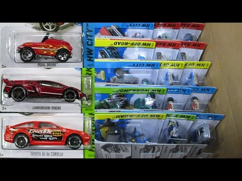 2015 C Hot Wheels Factory Sealed Case Unboxing By RaceGrooves