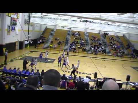 Kyra Fox, #13 North Brunswick High School  Basketball Reel 2013