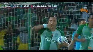 Atlético Nacional 3 - 2 Millonarios. Fecha 11 Liga Aguila 2017 II   Win Sports