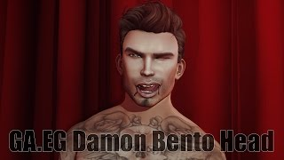 GA.EG Damon Bento Mesh Head in Second Life