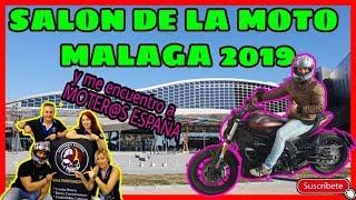 """SALON DE LA MOTO MALAGA 2019""""MOMA2019""""MOTEROS ESPAÑA""""FRAN RIDER"""