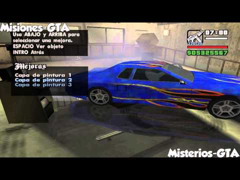 GTA San Andreas Error en Wheel Arch Angels Misterio (Numero 27)