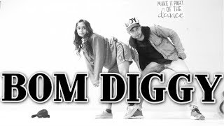 Bom Diggy Diggy Dance Choreography | Zack Knight | Jasmin Walia | Sonu Ke Titu Ki Sweety