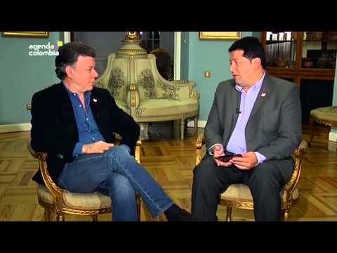 Entrevista al Presidente Juan Manuel Santos, en Agenda Colombia - 3 de noviembre de 2014