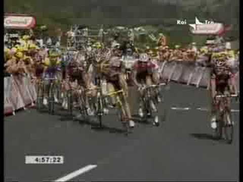 Tour de France: Vittoria di Riccardo Riccò
