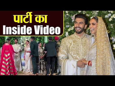 Deepika Padukone & Ranveer Singh's Mumbai Party's INSIDE VIDEO | Boldsky