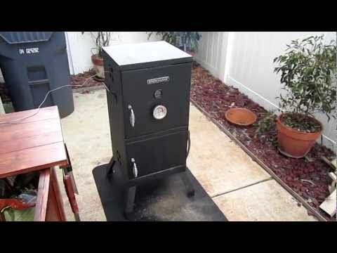 Brinkmann Vertical Smoker Mods