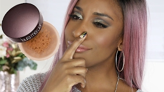Laura Mercier NEW Translucent Deep Powder Review | Jackie Aina