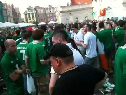 Irish fans 