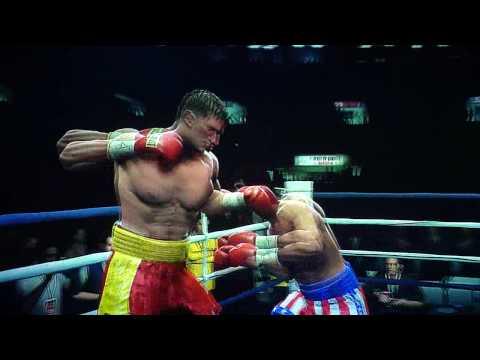 Fight Night Round 4 Rocky Balboa vs Ivan Drago pt.2