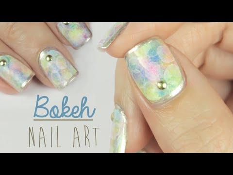 Bokeh Nail Art!