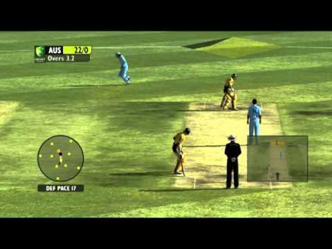 Australia Vs India Final Part 1 - Ashes Cricket 2009