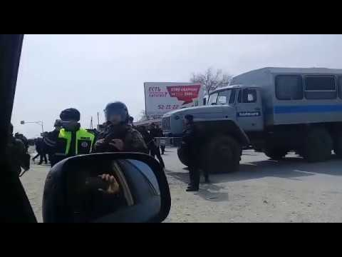 Стачка дальнобойщиков дагестана, 06.04.2017 Окружение